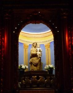 Statue Notre-Dame de Sarrance